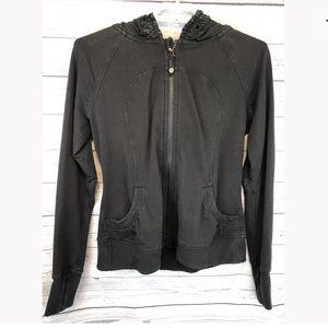 Lululemon hoodie black size 10
